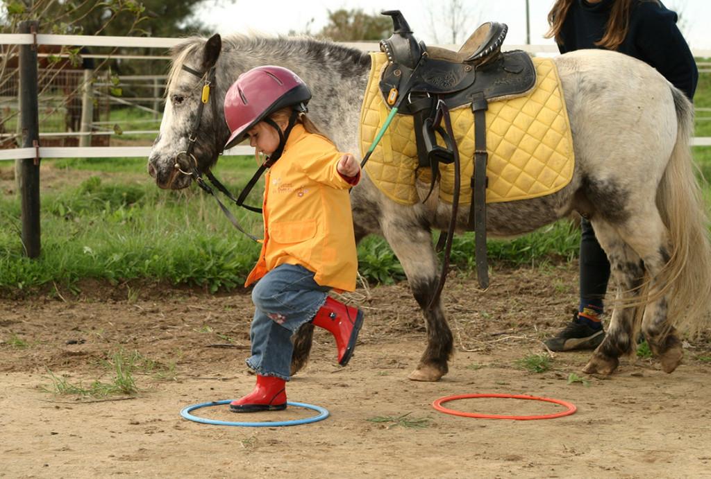 L'équitation par le jeu