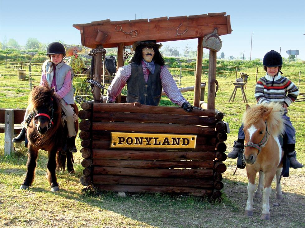 L'aventure à poney...