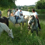 2 hours riding experience gained with a sporting element